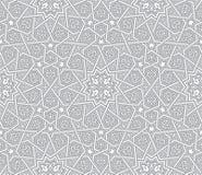 Предпосылка вектора исламского орнамента серая бесплатная иллюстрация