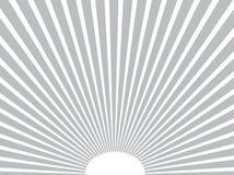 Предпосылка вектора Лучи Солнця серо 10 eps Стоковое Изображение