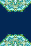Предпосылка вектора мандалы Стоковая Фотография