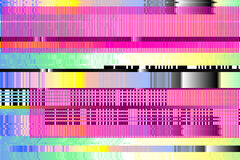 Предпосылка вектора Небольшое затруднение цифров сломанные пикселы, Стоковые Изображения RF