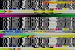 Предпосылка вектора Небольшое затруднение цифров сломанные пикселы, стоковое изображение