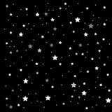 Предпосылка вектора ночное небо звёздное 10 eps Стоковое фото RF