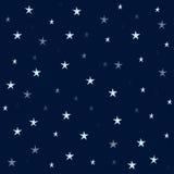 Предпосылка вектора ночное небо звёздное 10 eps Стоковая Фотография RF