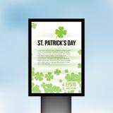 Предпосылка вектора доски света дня St. Patrick бесплатная иллюстрация