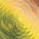 Предпосылка вектора спиральная Стоковое Изображение