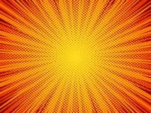 Предпосылка вектора стиля комика текстуры полутонового изображения Стоковые Фотографии RF