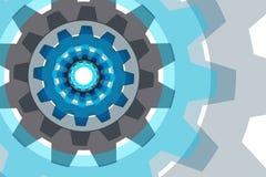Предпосылка вектора с элементом шестерни бесплатная иллюстрация