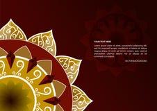 Предпосылка вектора Chakra и йоги бесплатная иллюстрация