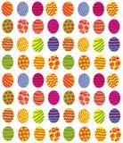 Предпосылка пасхальных яя иллюстрация вектора