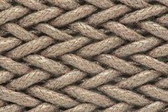Предпосылка веревочки - текстура может использовать для предпосылки Стоковые Фотографии RF