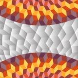 Предпосылка взгляда абстрактных кубов египетская Стоковая Фотография
