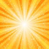 Предпосылка взрыва звезды Стоковые Изображения