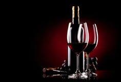 Предпосылка вина Стоковое Изображение