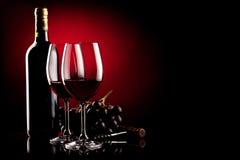 Предпосылка вина Стоковое Фото