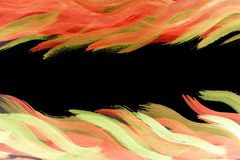 Предпосылка витальности яркого яркого украшения рамки multicolor Стоковое Изображение