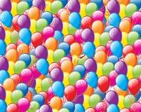Предпосылка воздушного шара цвета Стоковые Фото