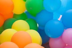 Предпосылка воздушного шара Стоковое Изображение