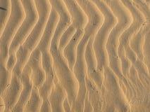 Предпосылка волн песка Стоковые Изображения