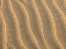 Предпосылка волн песка Стоковая Фотография RF