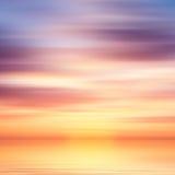 Предпосылка воды и неба абстрактная Стоковые Фотографии RF