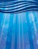 Предпосылка воды Стоковое Изображение RF