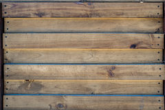 предпосылка всходя на борт древесины коричневой части крытой Стоковые Изображения RF