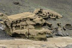 предпосылка вулканическая Стоковая Фотография