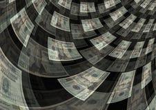 Предпосылка выгоды богатства творения исходящей наличности Стоковое Изображение RF