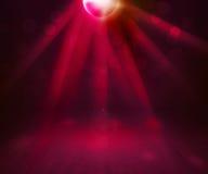 Предпосылка выставки комнаты диско Стоковая Фотография