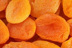 Предпосылка высушенного абрикоса Стоковое Фото