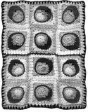 Предпосылка вязания крючком Стоковые Фото