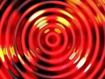 Предпосылка влияния воды, красочный резонанс воды Стоковое Фото