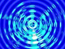 Предпосылка влияния воды, красочный резонанс воды Стоковое фото RF