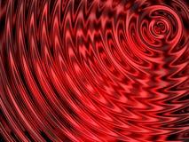 Предпосылка влияния воды, красочный резонанс воды Стоковое Изображение RF