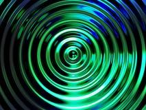 Предпосылка влияния воды, красочный резонанс воды Стоковые Изображения RF