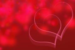 Предпосылка влюбленности абстрактная Стоковая Фотография RF