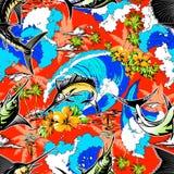 Предпосылка Гавайских островов Spearfish бесплатная иллюстрация