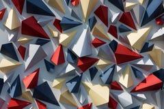 Предпосылка геометрии стоковое изображение rf