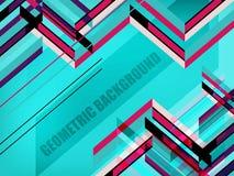 предпосылка геометрическая Стоковая Фотография