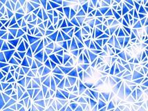 Предпосылка геометрических форм Стоковое фото RF