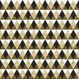 Предпосылка геометрической картины безшовная Стоковые Изображения RF