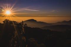 Предпосылка горы Стоковые Фото