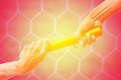 Предпосылка года сбора винограда сети цели футбола Стоковое Изображение RF