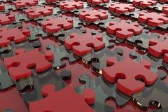 Предпосылка головоломки абстрактная Стоковое Изображение