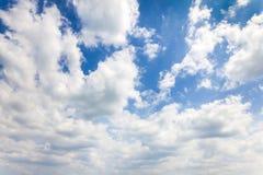 Предпосылка голубого неба стоковое фото rf