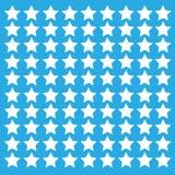 Предпосылка голубых звезд Бесплатная Иллюстрация