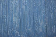 Предпосылка голубых и белых деревенских доск Стоковые Изображения