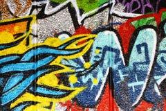 Предпосылка граффити Стоковые Изображения RF