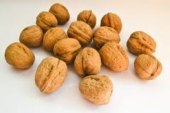 Предпосылка грецких орехов Стоковые Фото