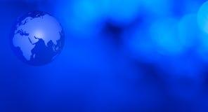 Предпосылка глобуса мира концепции футуристическая Стоковое фото RF